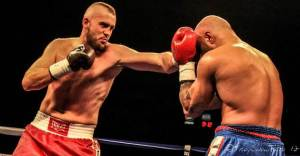 Dillon Carman, a native of Mississauga, Ontario, won the Canadian heavyweight boxing championship in a seventh round knockout Saturday afternoon.
